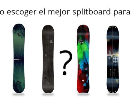 5 Preguntas obligadas para comprar un splitboard
