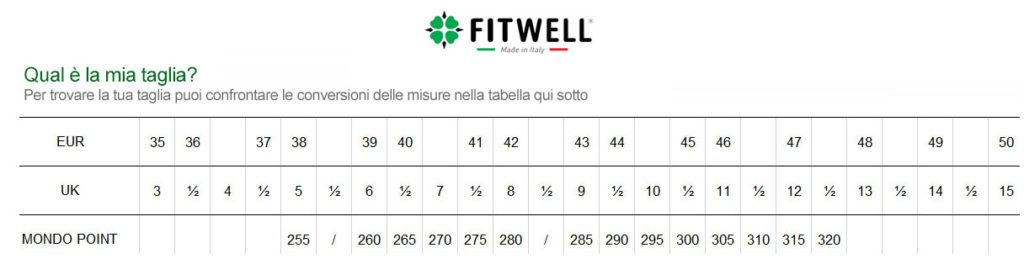 fitwell size 2016
